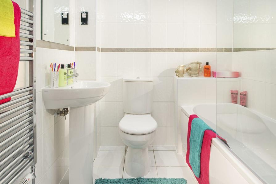 Typical Ashford bathroom