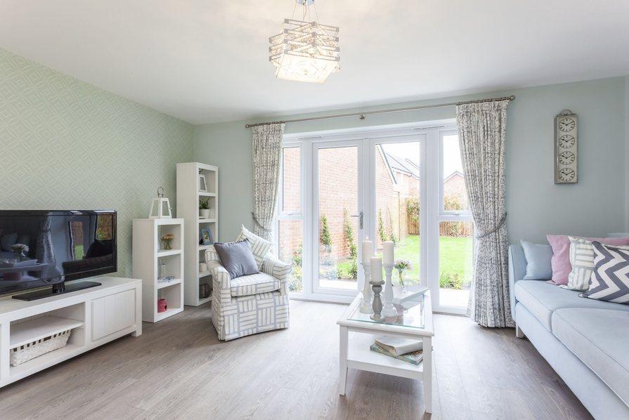 Typical Barwick master bedroom with en suite