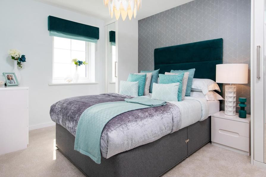 Folkestone master bedroom