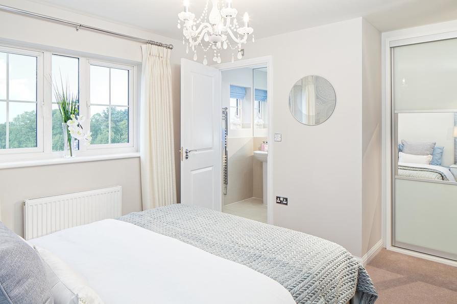 Mster bedroom with en suite