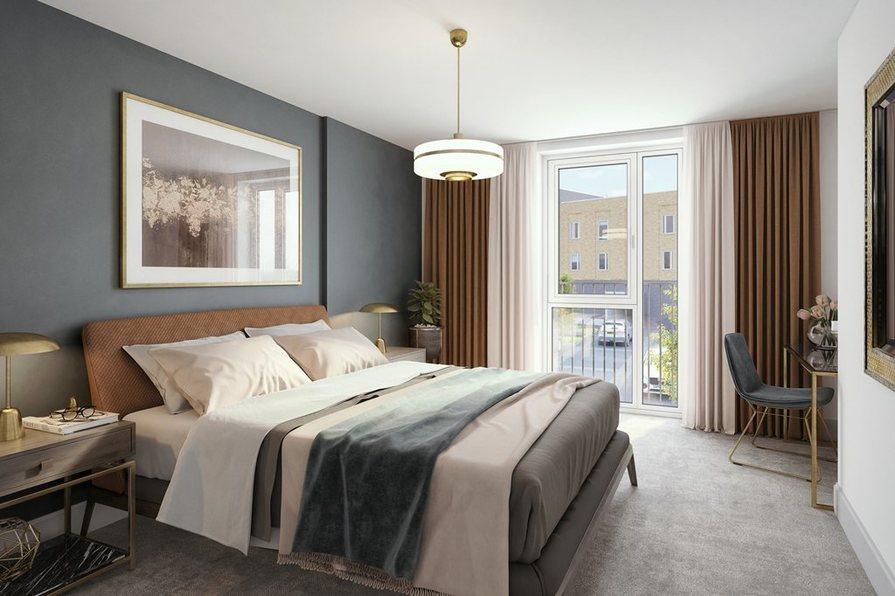 Amble double bedroom