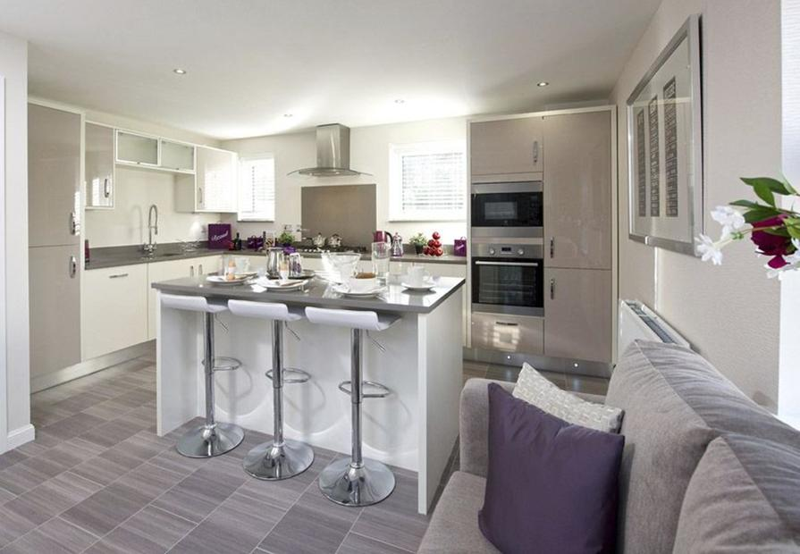 Typical Lincoln fitted kitchen