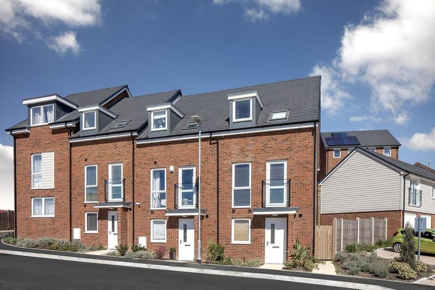 Contemporary new homes at Phoenix Quarter, Dartford