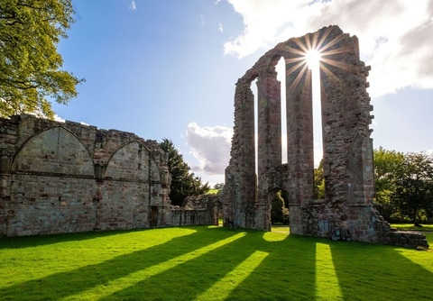 Croxden Abbey in Uttoxeter