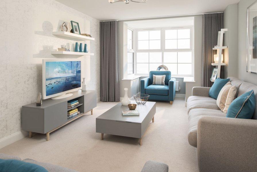 Typical Heathfield lounge with bay window