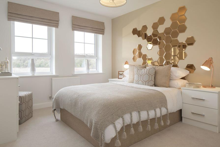 Typical Heathfield third bedroom