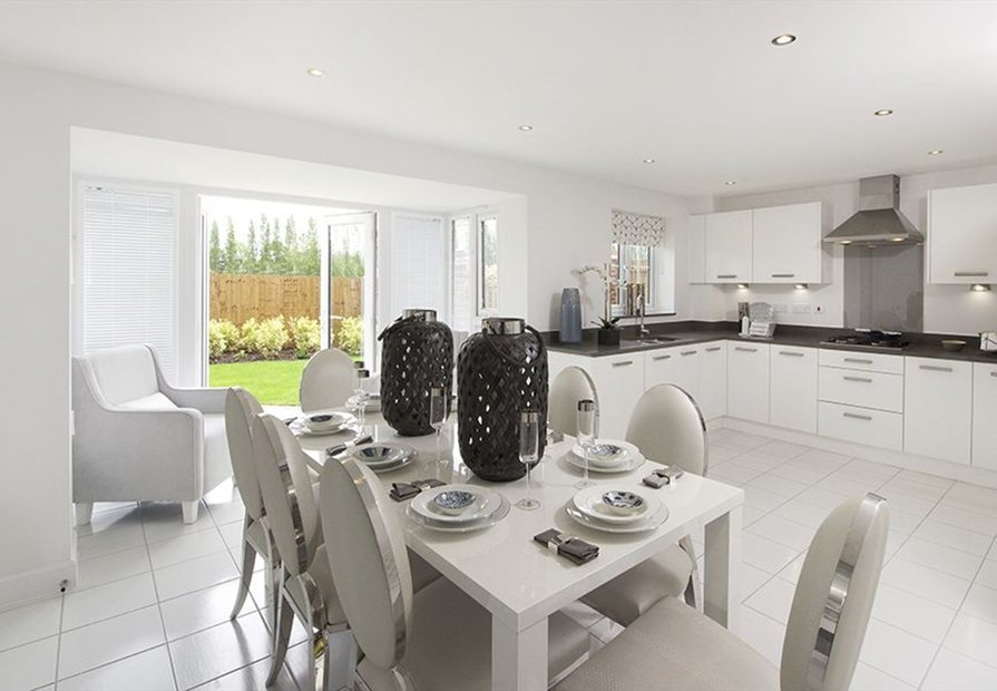 The Smithy kitchen dining area