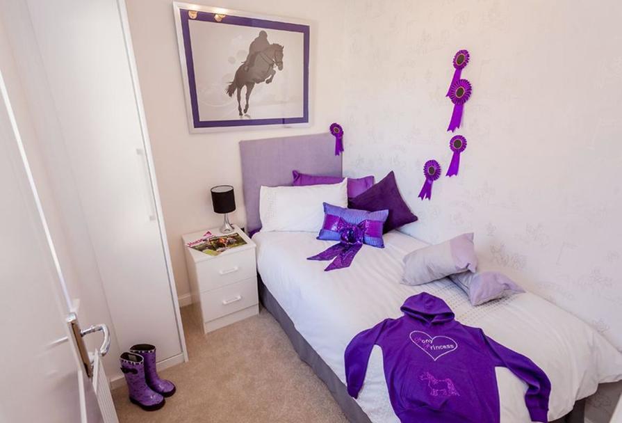 Gatehouse single bedroom