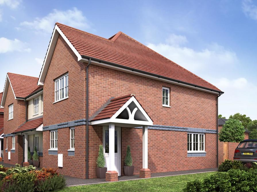 Fordswell 2 bedroom home at Riverdown Park external