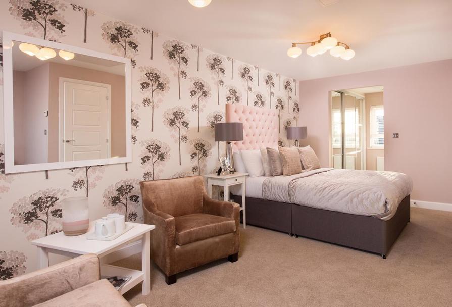 Stambourne master bedroom