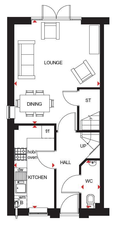 Stambourne ground floor plan