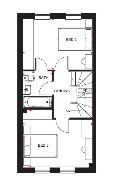 Norbury first floor