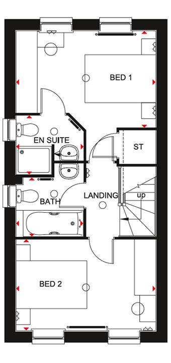 Tiverton FF Floorplan