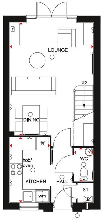 Tiverton GF Floorplan