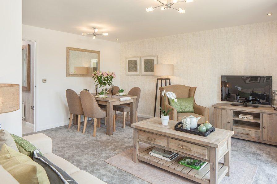 3 bedroom new home for sale in Cullompton Devon