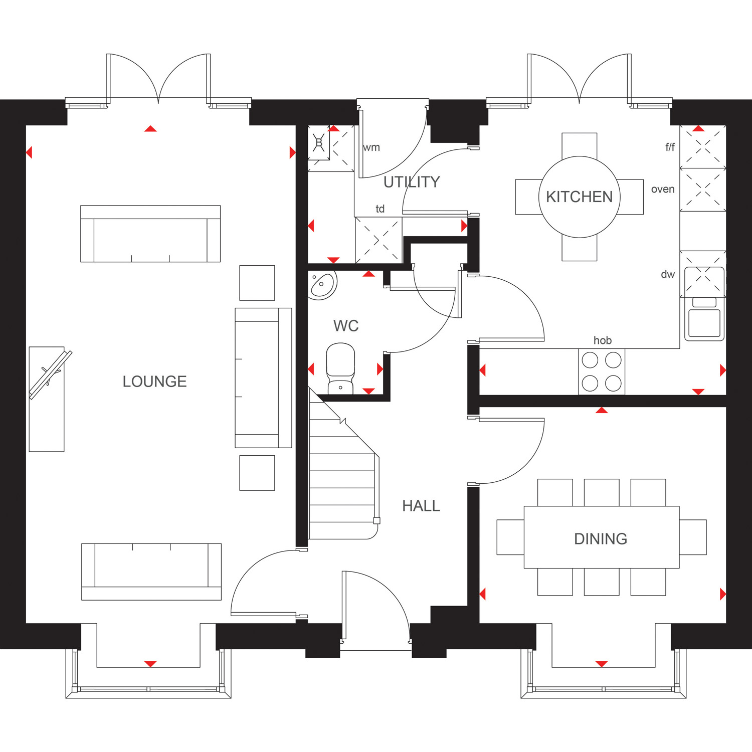 5 Bedroom House In Morpeth New Homes