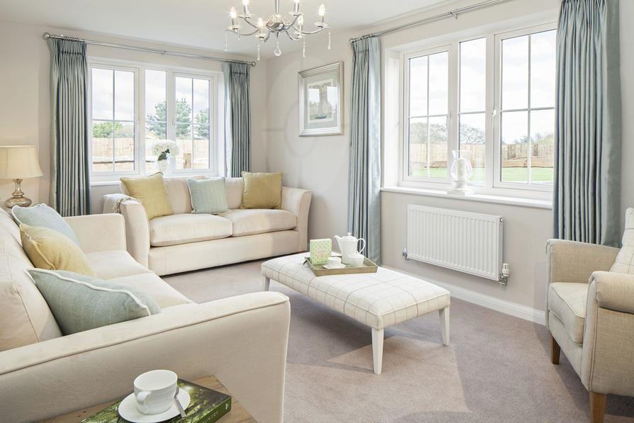 Three bedroom Morpeth lounge