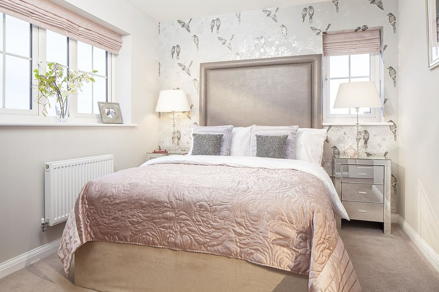 Three bedroom Morpeth bedroom