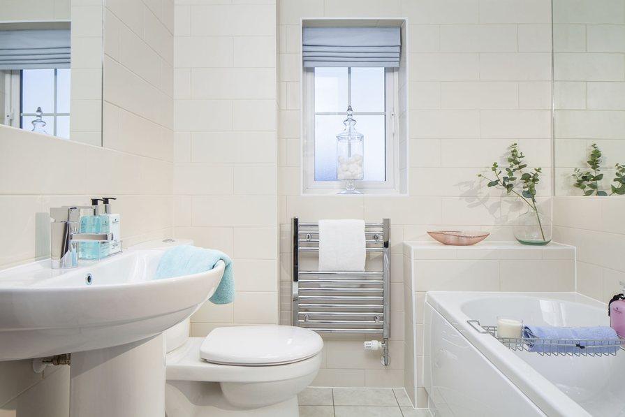 Three bedroom Morpeth bathroom