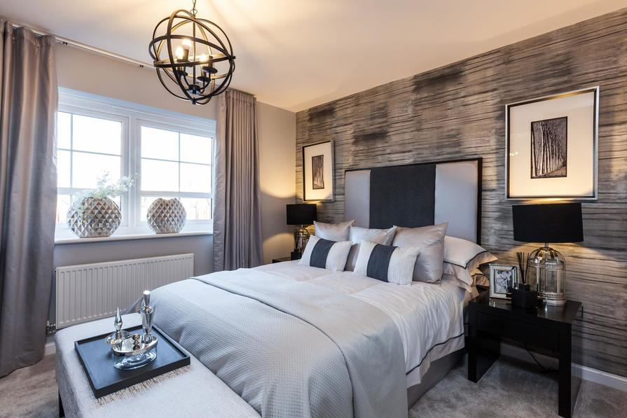 Typical Tetbury master bedroom