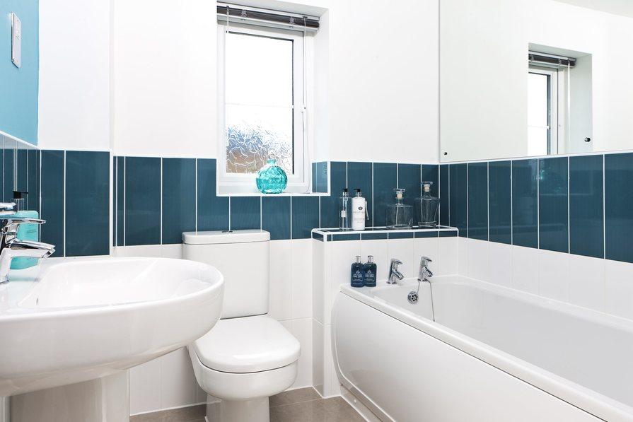 Typical Tetbury family bathroom