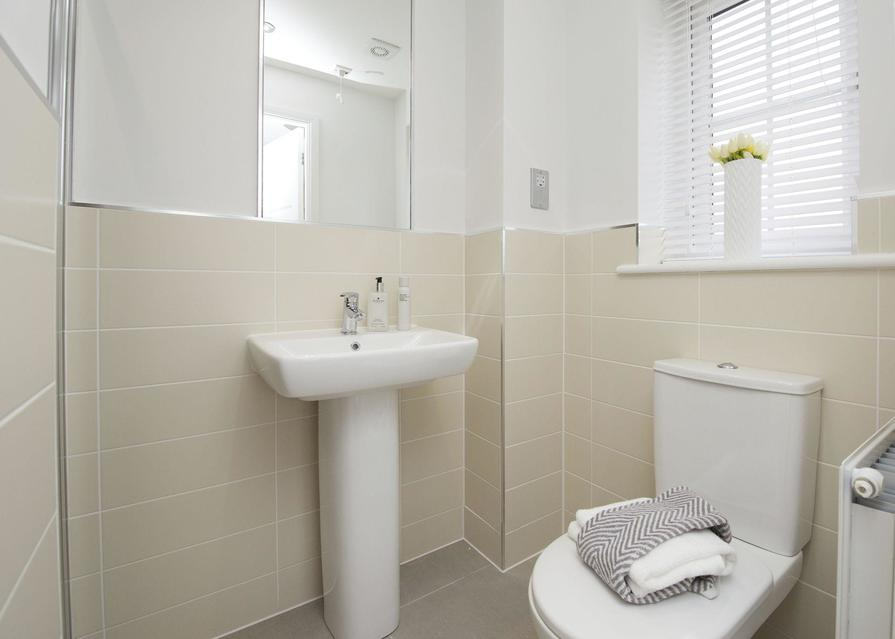 Typical Finchley en suite to master bedroom