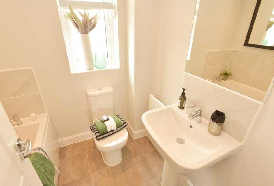 Typical Finchley bathroom