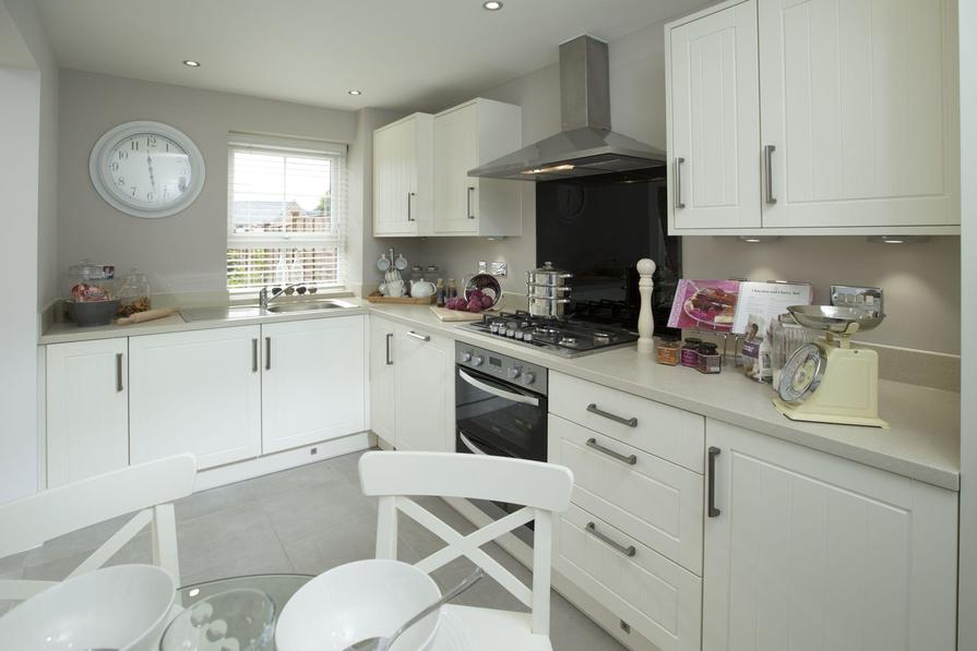 Typical Morpeth fitted kitchen with breakfast area