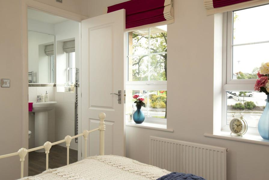 Typical Morpeth master bedroom en suite