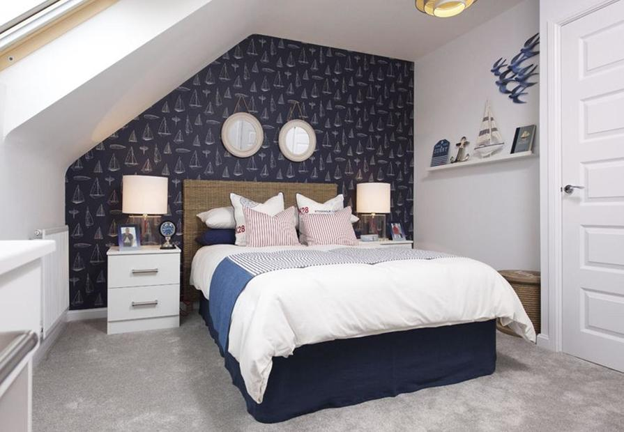 Helmsley double bedroom