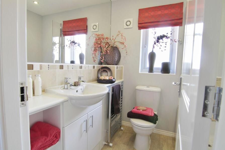 Typical Regis bathroom