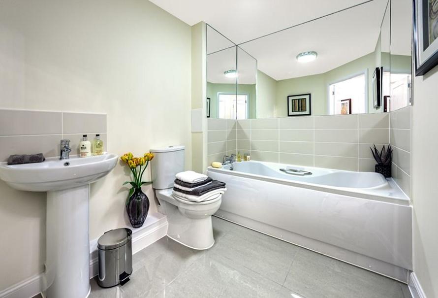 Typical Show Apartment Bathroom