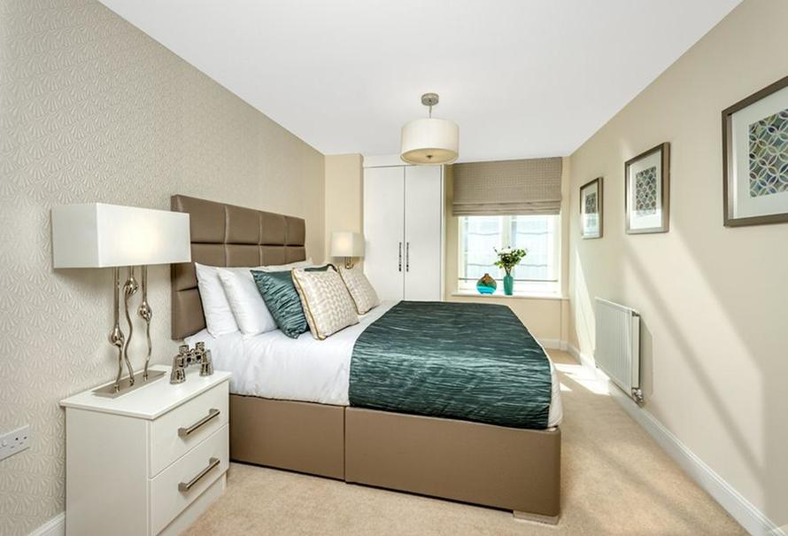 Typical Barratt Show Home Bedroom