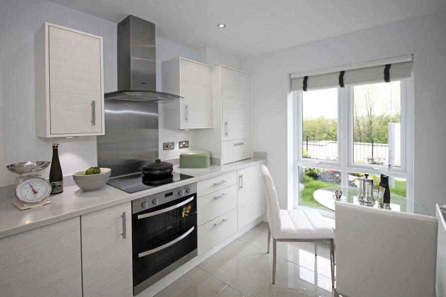 The Westgate showhome kitchen