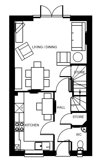 Barwick ground floor plan
