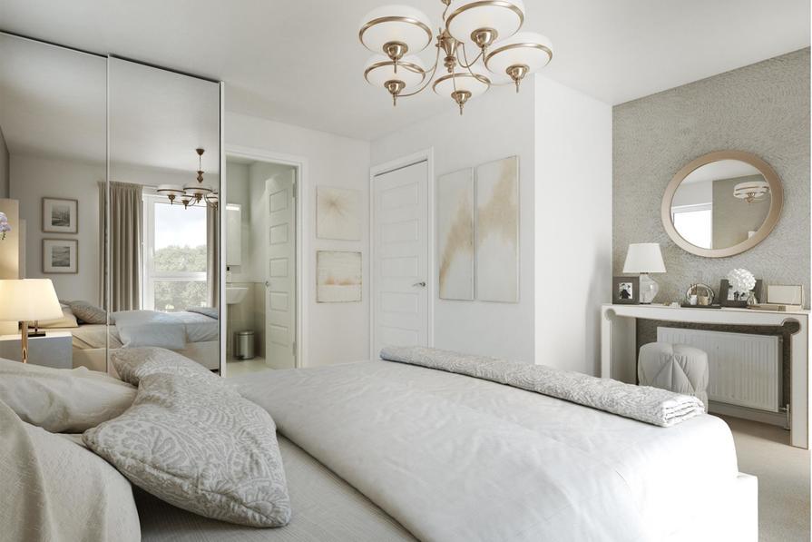 The Fulmar double bedroom