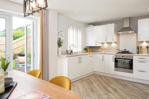 Maidstone Kitchen with French doors to the garden