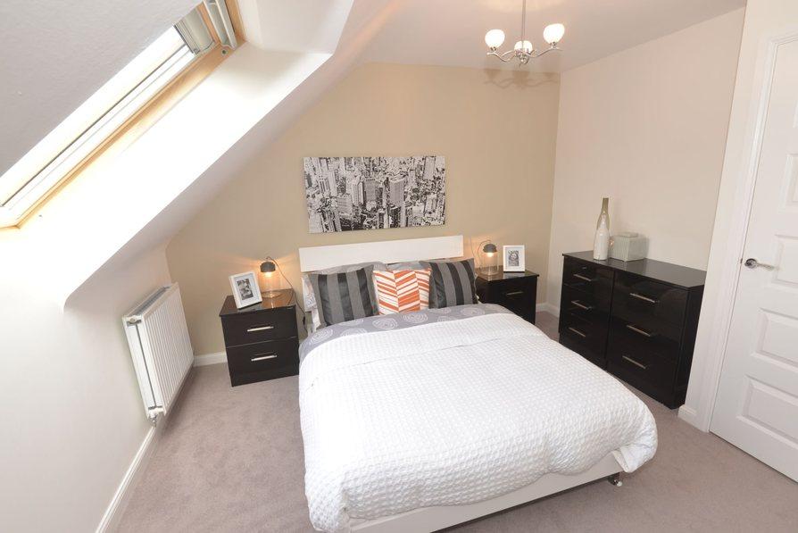 Master bedroom/bedroom 3