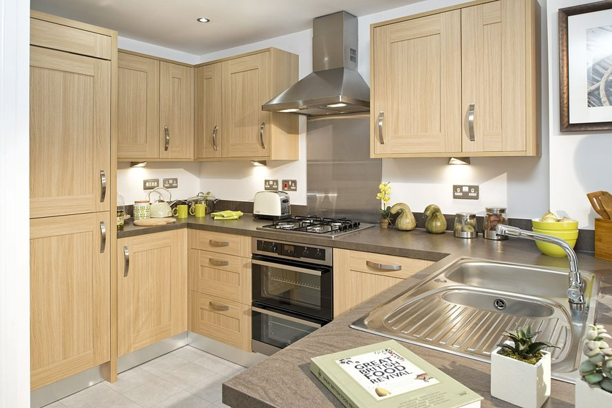 Typical Faversham fitted kitchen