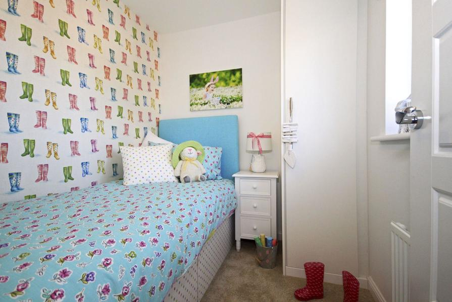 Typical Dartmouth third bedroom