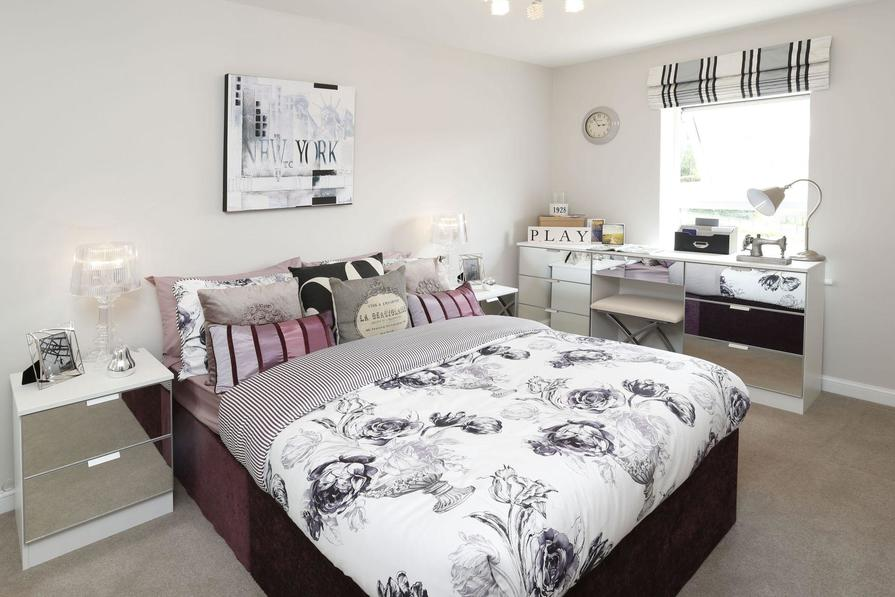Typical Hythe third bedroom