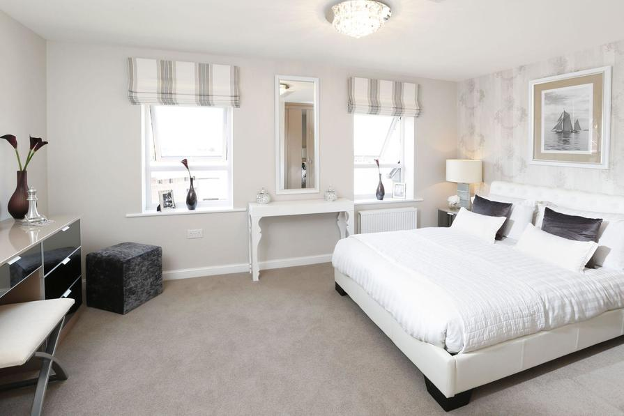 Typical Hythe master bedroom