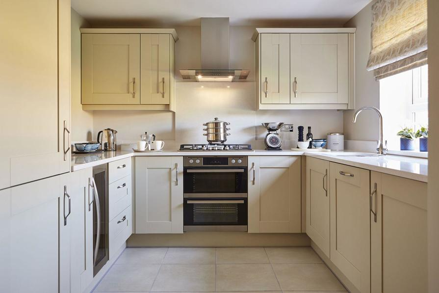Yarnfield Park Somerfield show home fitted kitchen