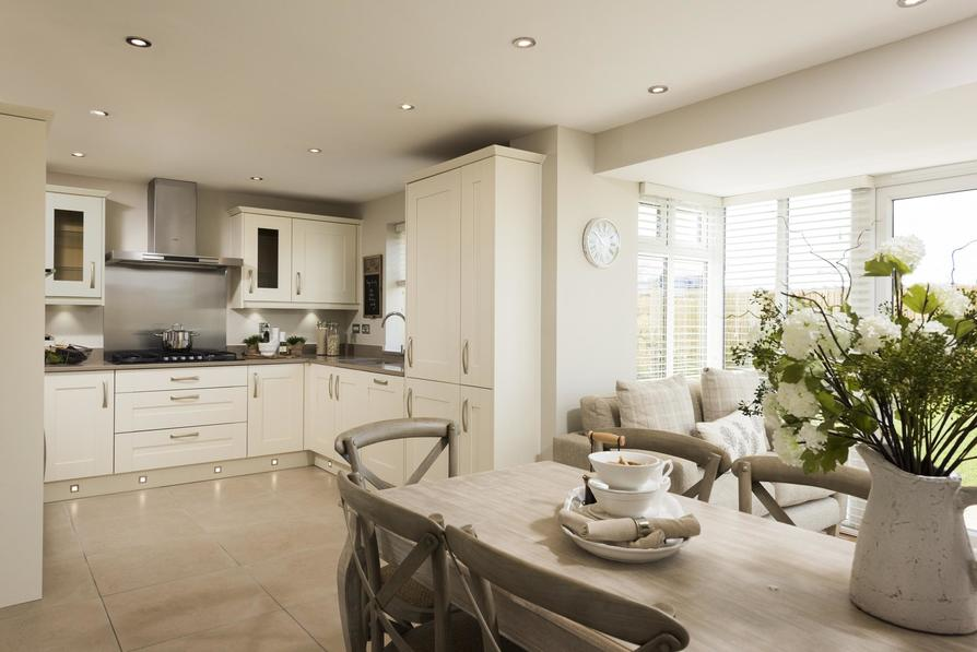 Typical Harrogate Kitchen And Dining Area