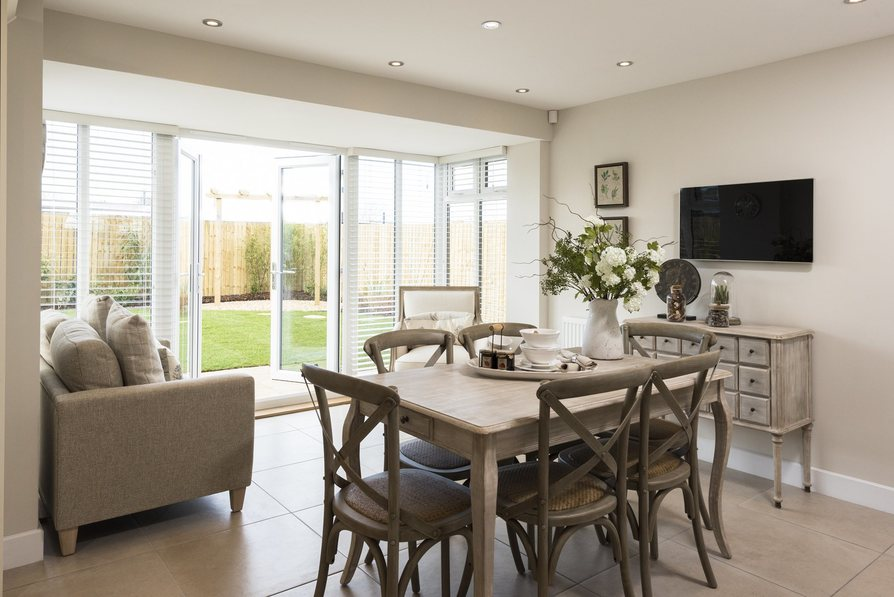 Typical Harrogate Dining Area With French Doors