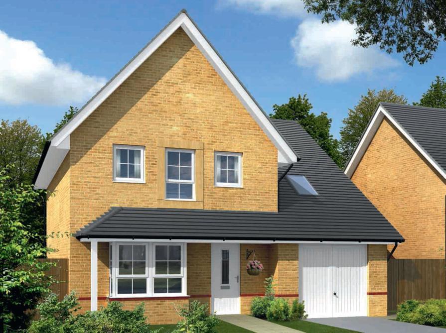 Built By Barratt Homes Plot 228 Priced At 332995 In Yarnfield Park