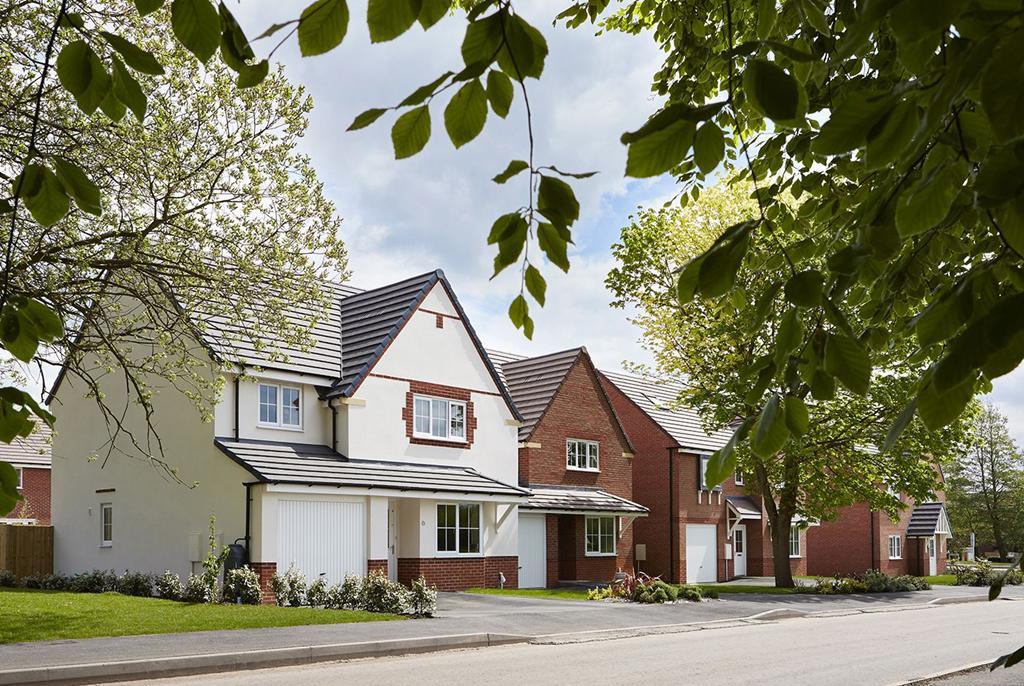 Yarnfield Park street scene south parcel