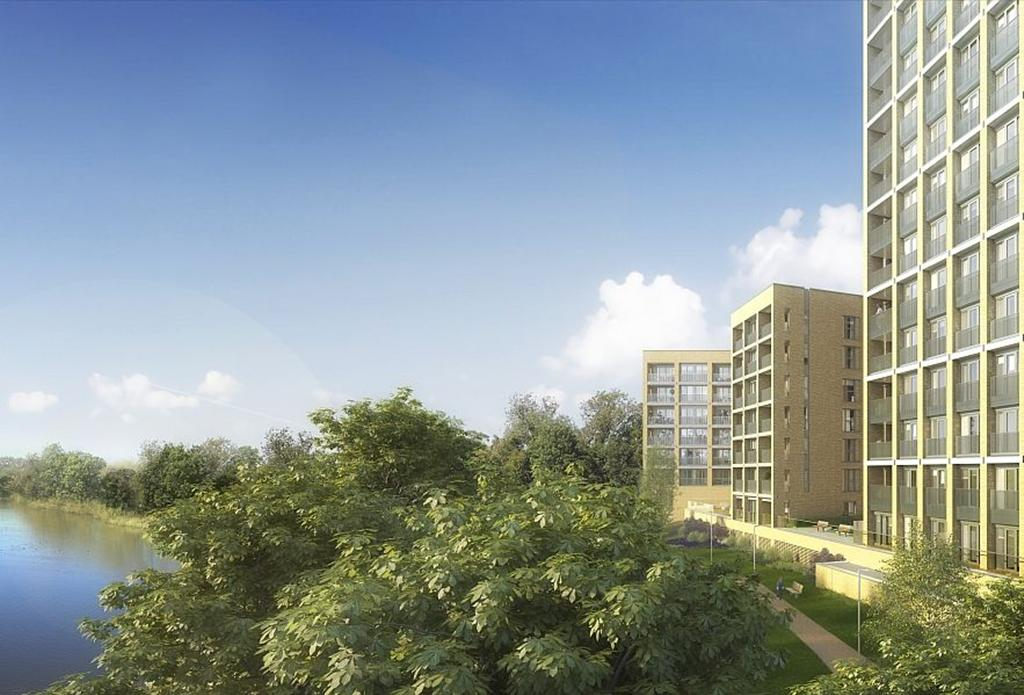 Hendon waterside in west hendon is built by barratt london for Swapping houses instead of selling