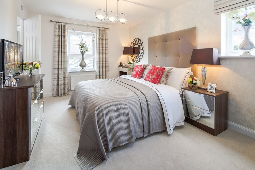 Previous Lincoln Show Home Master Bedroom