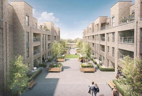 New Mill Quarter Hackbridge in Wallington